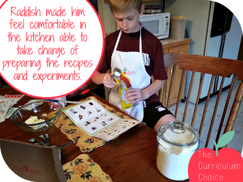 Raddish Science Box Review. Engaging Recipe Cards were easy to follow. | The Curriculum Choice