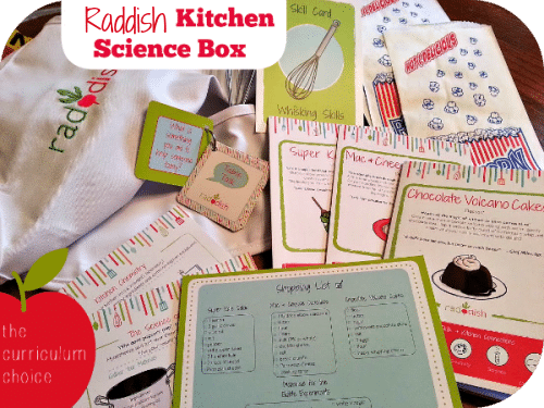 Raddish Kitchen Science Box | The Curriculum Choice