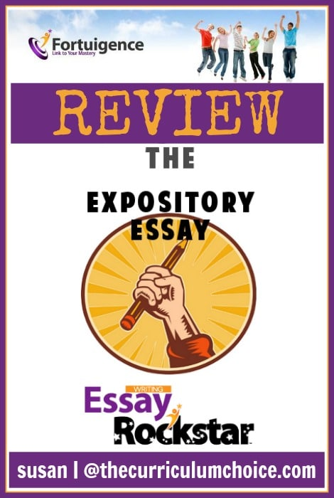 Essay Rock Star: The Expository Essay REVIEW