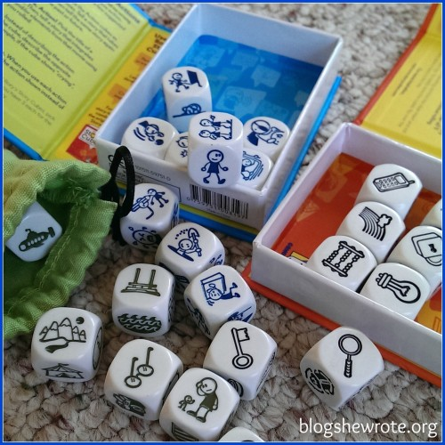 Curriculum Choice: Rory's Story Cubes
