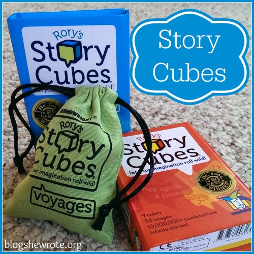 Rory's Story Cubes Review