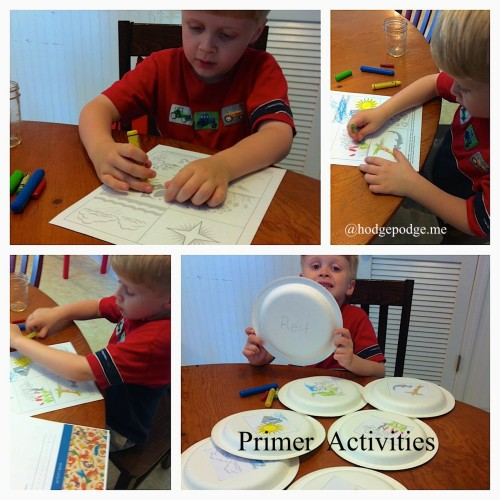 Tapestry Primer activities