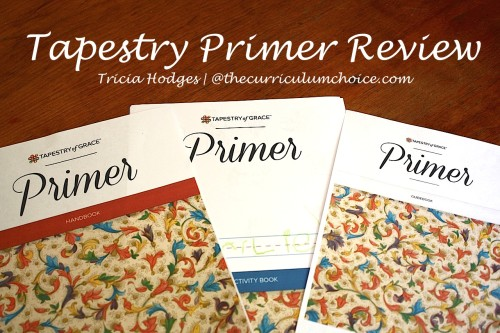 Tapestry of Grace Primer - Review at www.thecurriculumchoice.com