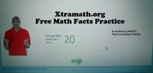 XtraMath: Free Math Facts Practice - The Curriculum Choice