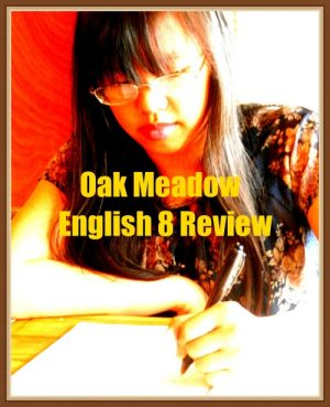Oak Meadow English 8 is all about introducing the components of good literature to your middle schooler. As a family, we had been using Oak Meadow curriculum for English and history for many years.