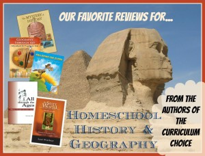 Homeschool History and Geography review round up! | The Curriculum Choice