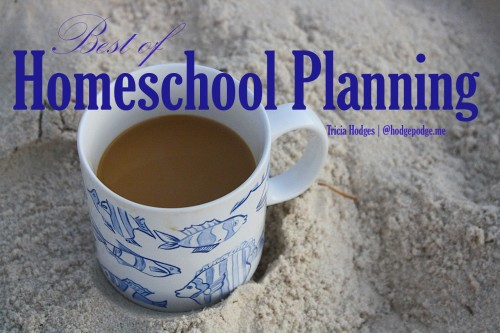 Homeschool Planning and Goal Setting