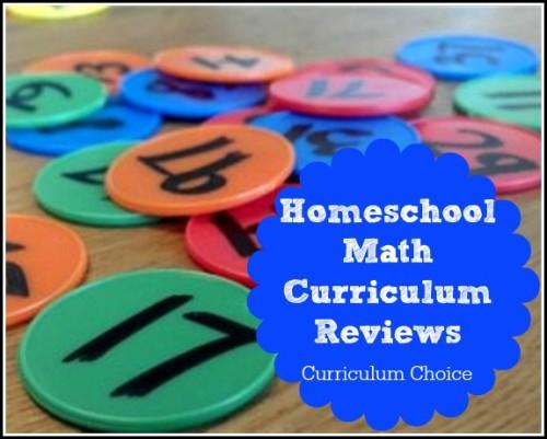 Homeschool Math Curriculum Reviews - The Curriculum Choice
