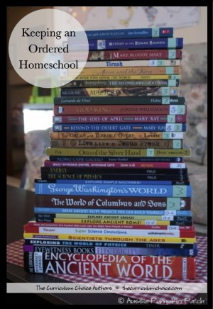 Ideas and resources for keeping an ordered homeschool with planning, storage and scheduling ideas. Organization and keeping an ordered homeschool tends to be top on every homeschool mom's list of things to accomplish. Let's face it, a well organized day allows things to flow more smoothly.