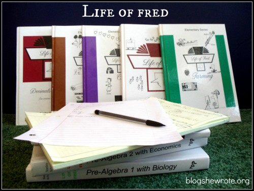 Blog, She Wrote: Life of Fred {Homeschool Math}