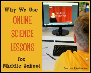 Online Homeschool Science Lessons