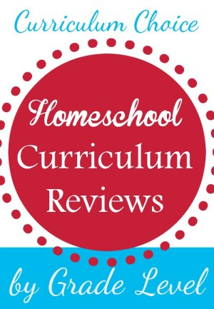 The authors of the Curriculum Choice have pulled together grade specific reviews for you!