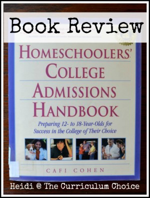 Homeschoolers College Admissions Handbook Review