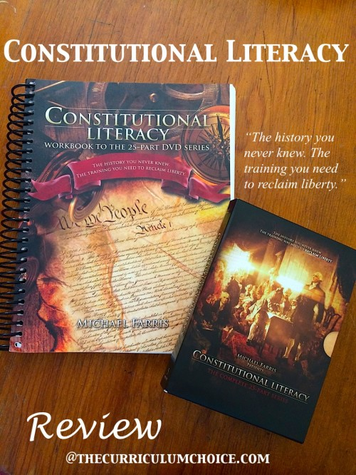 Constitutional Literacy Review at The Curriculum Choice