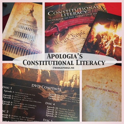 Constitutional Literacy by Apologia