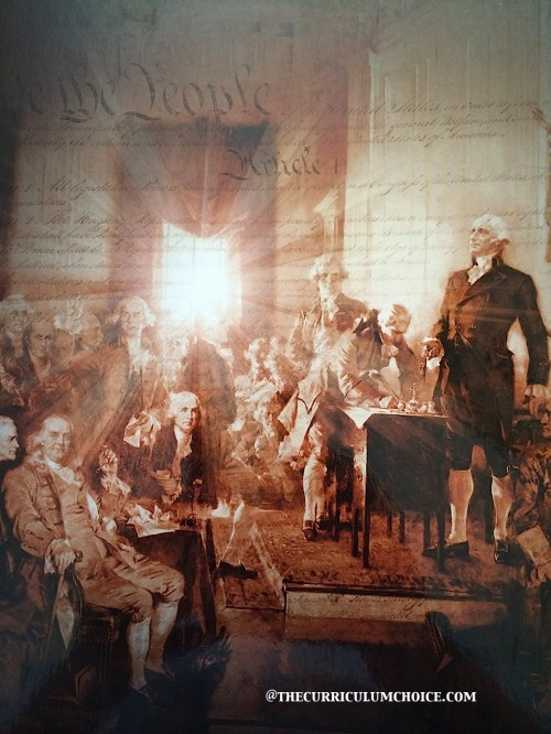 Constitutional Literacy scene of founding fathers
