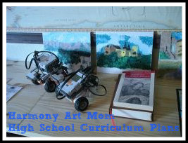 Harmony Art Mom High School Curriculum Plans