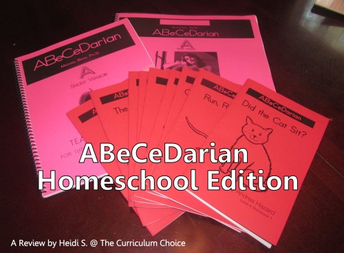 Abecedarian Reading Program Review by Heidi at The Curriculum Choice