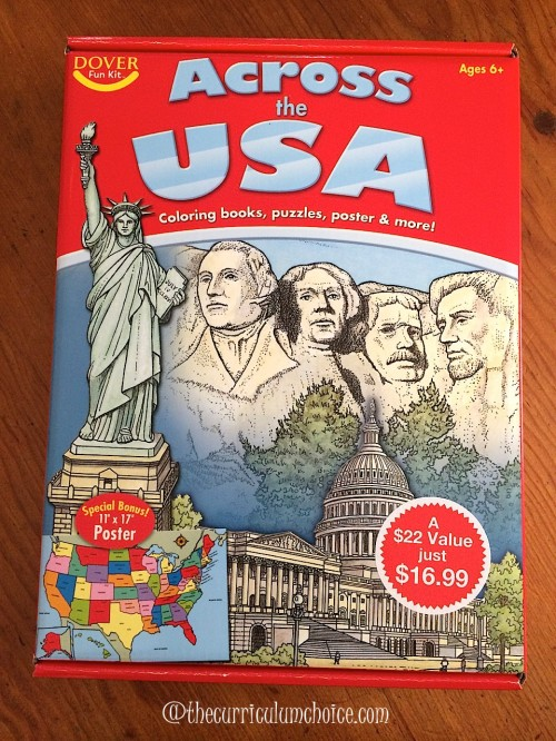Across the USA Fun Kit - Dover Publications