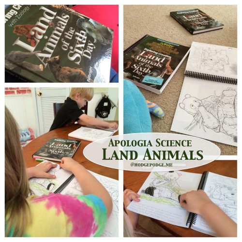 Apologia Exploring Creation Land Animals of the Sixth Day
