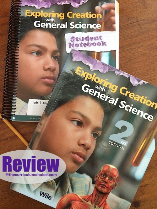 Apologia Exploring Creation with General Science Review at The Curriculum Choice