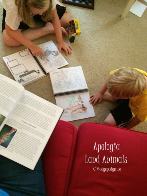 Apologia Land Animals for Elementary