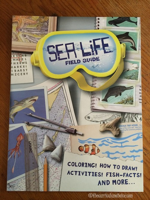 Sea Life Field Guide from Dover Publications