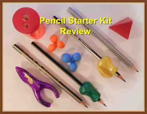 Starter Pencil Kit by Draw Your World - review at The Curriculum Choice. Pencil Grips and Aids