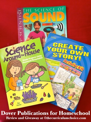 Dover Publications Science and Writing Resources for Homeschool