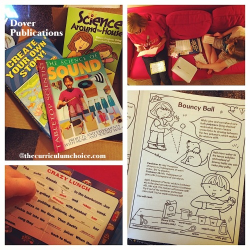 Enjoying Dover Publications for Homeschool Learning
