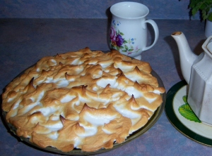 Miss 9's Lemon Meringue Pie