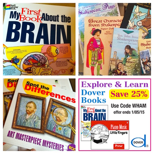 Dover Publications Art, Literature and Science for Homeschool