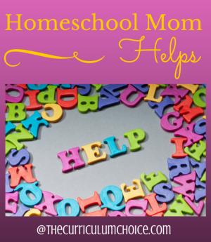 Homeschool Mom Helps