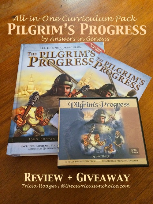 Review & Giveaway - The Pilgrim's Progress All-in-One Curriculum Pack by Answers in Genesis