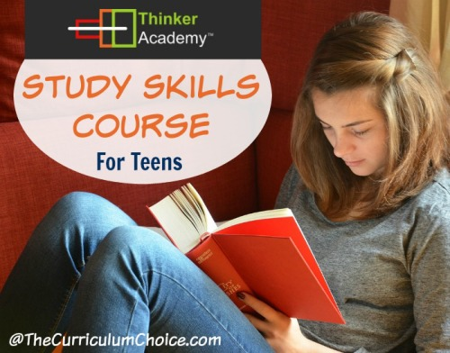Thinker Academy's Study Skills Course [REVIEW] - The Curriculum Choice