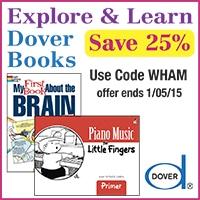 Dover Publications for Homeschool discount