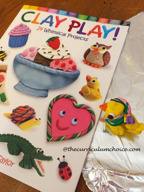 Clay Play projects by Dover Publications
