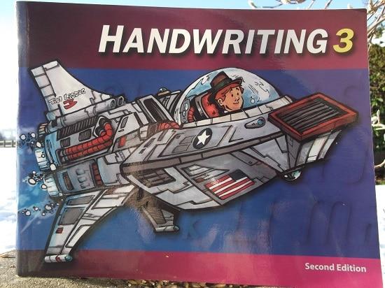 BJU (Bob Jones University) Press - Handwriting 3 Review