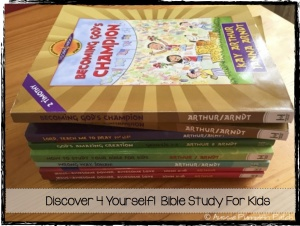 Discover 4 Yourself Bible Study for Kids - Review