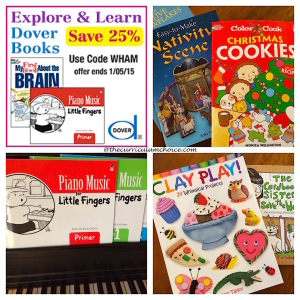 Dover Publications for Christmas and the Creative Homeschool