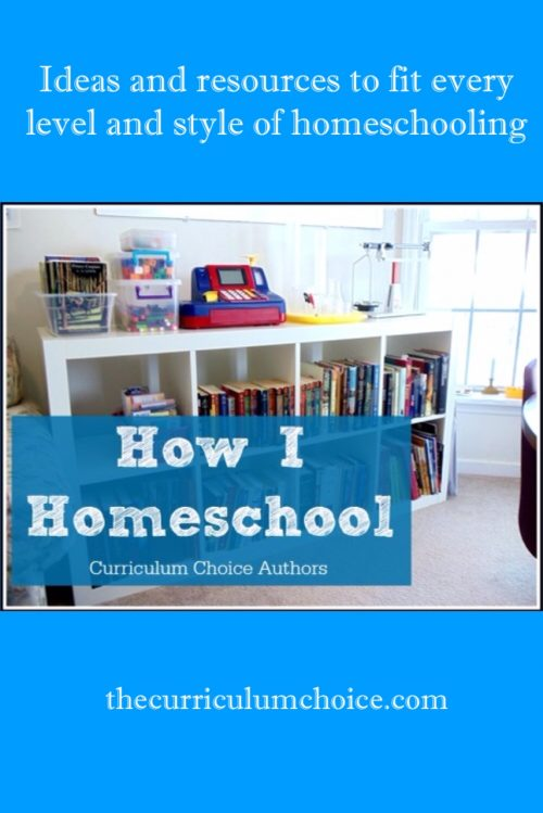 Welcome to How I Homeschool by the authors at Curriculum Choice! Here you will find ideas and resources to fit every level and style of homeschooling.