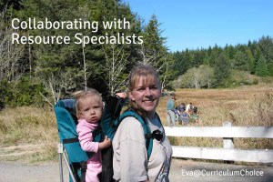 Collaborating with Resource Specialists ⎜Eva@CurriculumChoice
