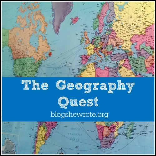 Blog, She Wrote: The Geography Quest