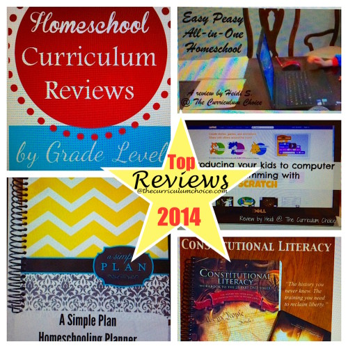 Top Homeschool Curriculum Reviews 2014