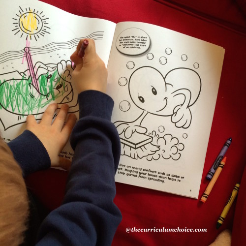 Dover Publications Germs and Microbes Coloring Book