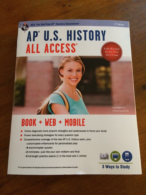 AP U.S. History All Access from REA