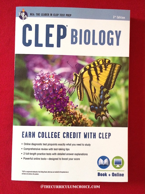 CLEP Biology from REA Test Prep