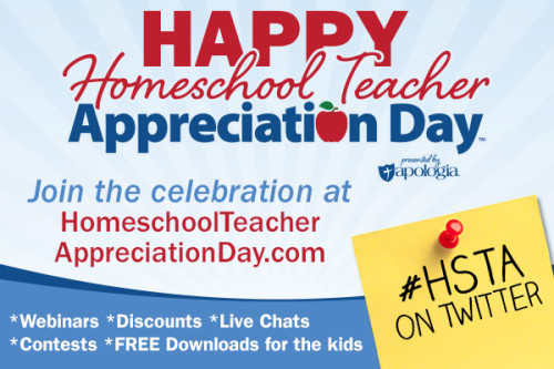 Homeschool Teacher Appreciation Day