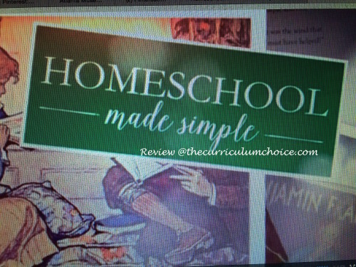 Homeschool Made Simple - Review at thecurriculumchoice.com