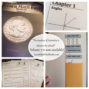 Learn Math Fast Books Volume 7 Geometry